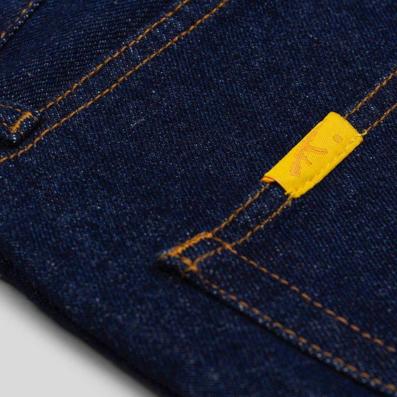 premium jeans dark blue label