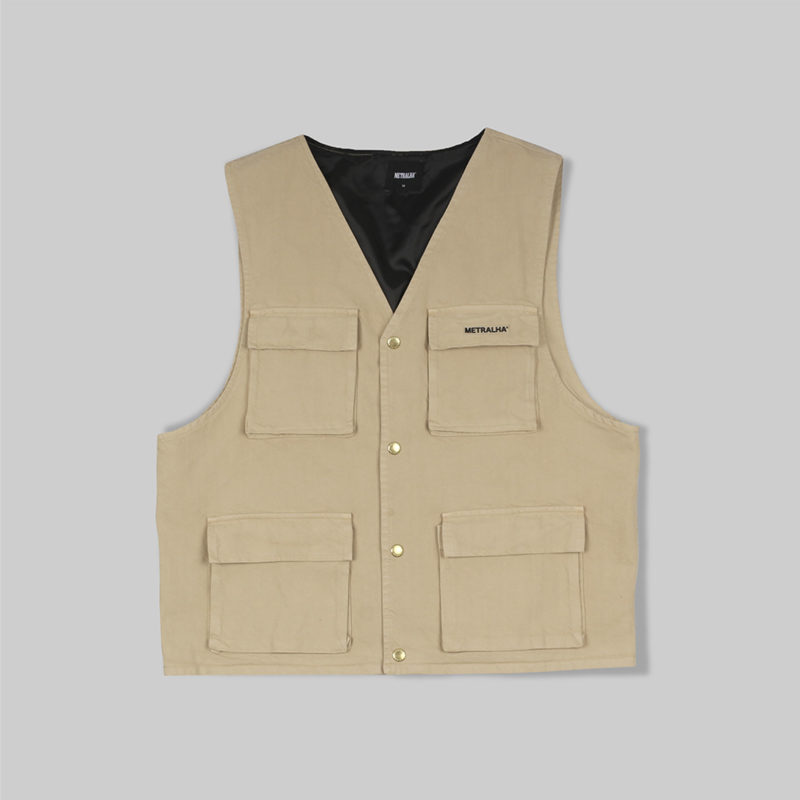 metralha-worldwide-denim-vest-beige-clothing-streetwear-limited-edition-online-store