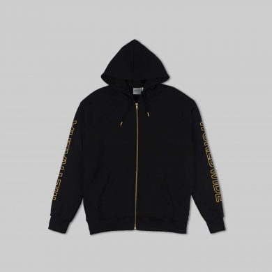 metralha-worldwide-apollo-zip-hoodie-black-yellow