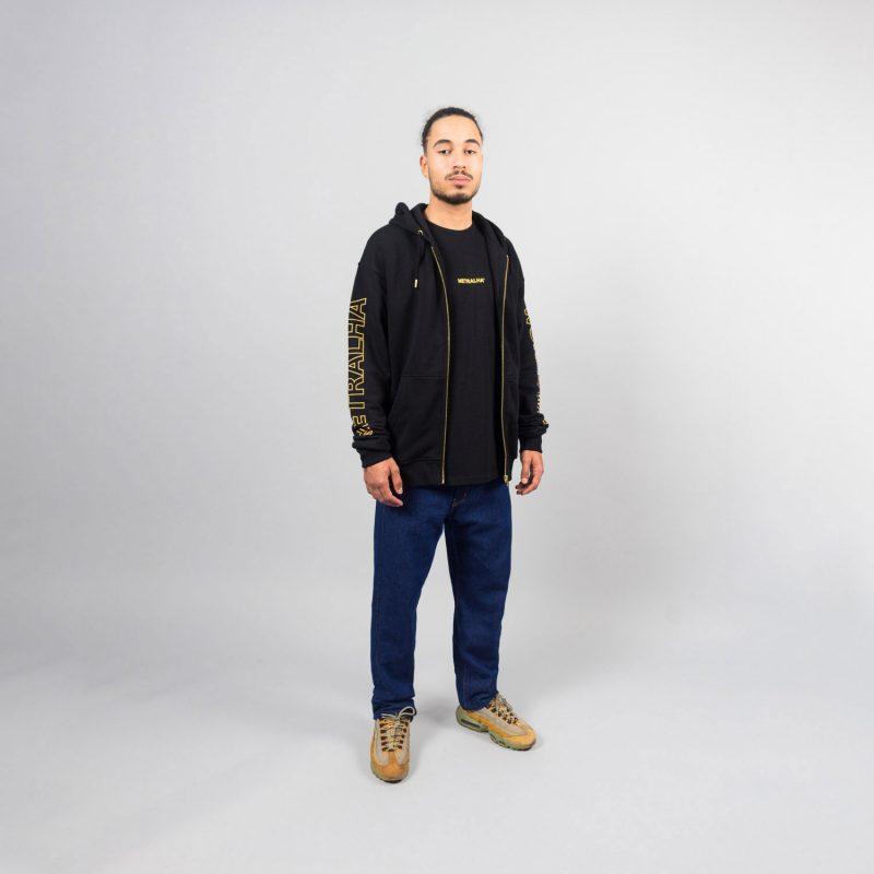 metralha-worldwide-e-commerce-photo-zip-hoodie-black-online-store-front-view